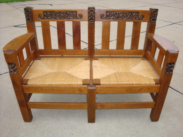 Phoenix Furniture Company Settee