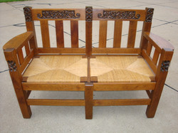 Phoenix Furniture Company Settee