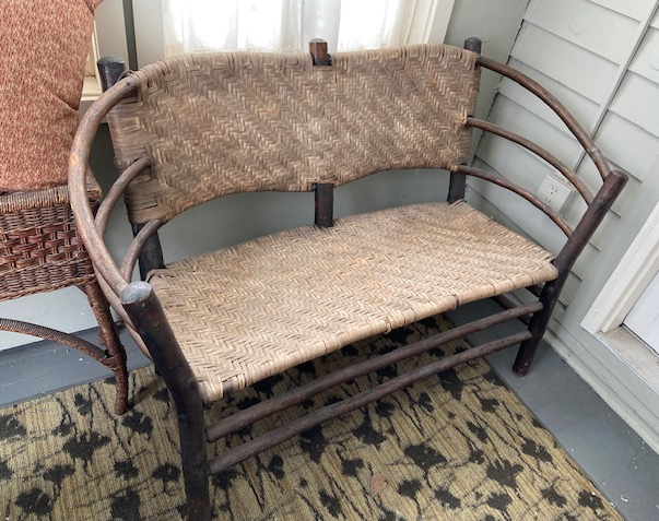 Old Hickory Settee