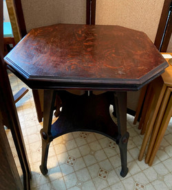 Octangle Top Side Table