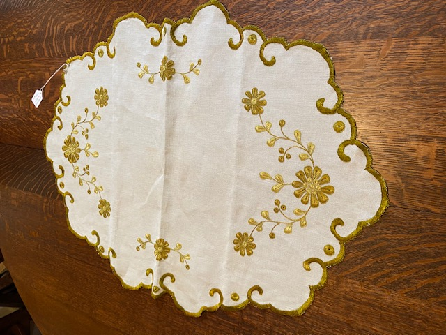 Oval Textile