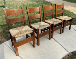 SOLD Gustav Stickley Chairs
