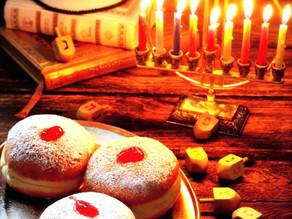 Ханука  — праздник света  — חַג הָאוּרִים