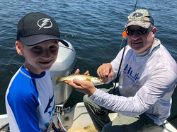 Crystal River family fishing charter
