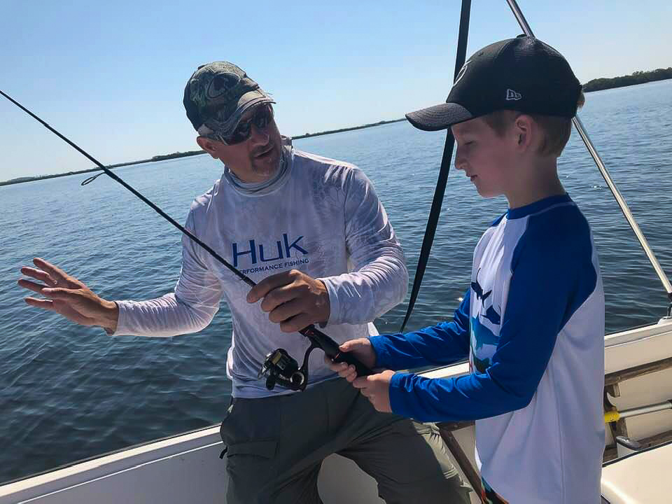 Citrus County family fishing charter