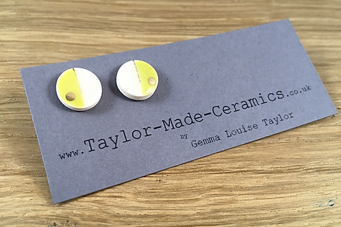 Gemma Louise Taylor. ceramic earrings