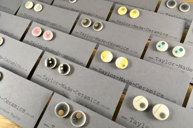 Selection of Ceramic Earrings