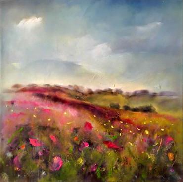 SOLD - Spring flowers, Jerusalem hills I