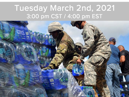 Event: Social impact, entrepreneurship, disaster resilience, and emergency relief