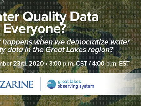 Event: Democratization of water quality data