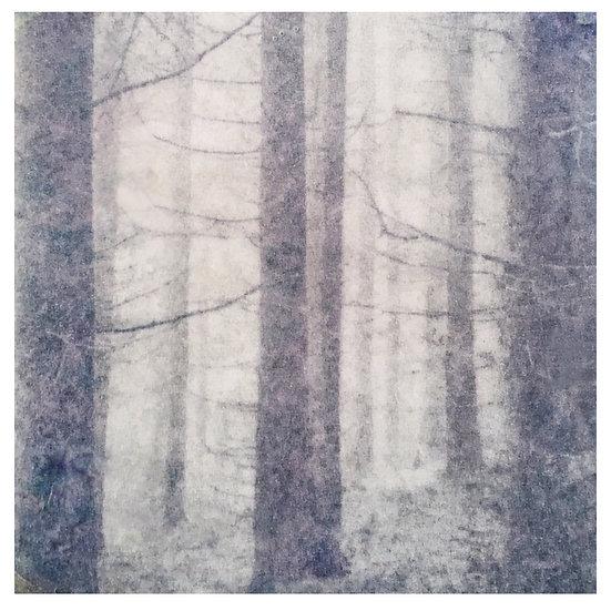 Kunstkaart Bomen, nr. 4