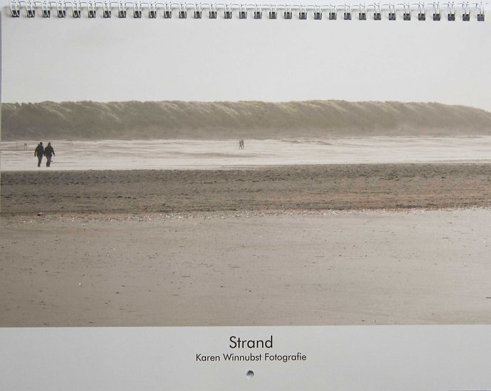 Kunstkalender Strand 2018