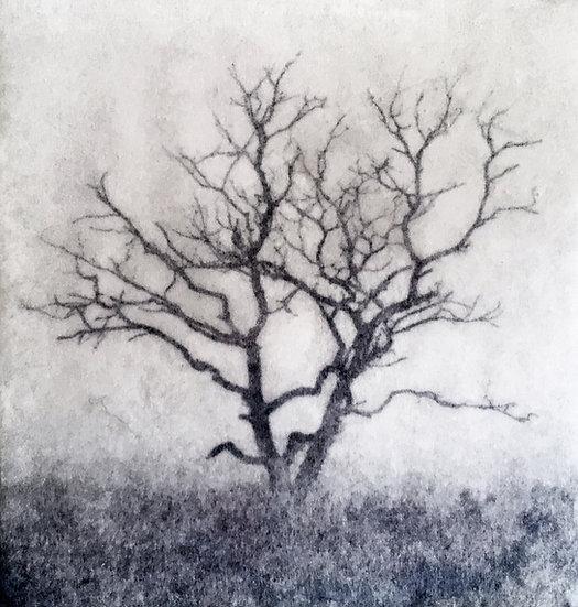 Houten fotoblok Tree II