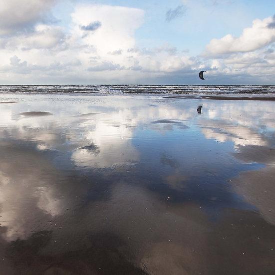 Houten fotoblok Surf