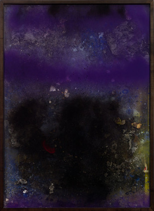 Work on fire No.9 2013-14 36 x 24 inches