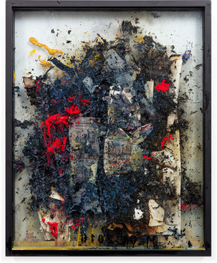 Works on fire 2013-14 36 x 24 inches