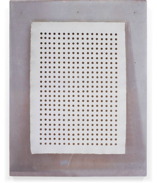408 holes 1961 Work on paper 32 x 22 inches