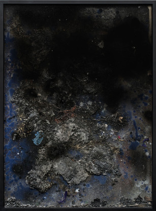 Work on fire No.16 2013-14 36 x 24 inches