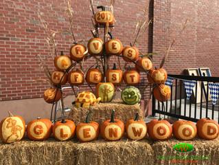Glenwood Springs ColoradoHarvest Festival pumpkin carving
