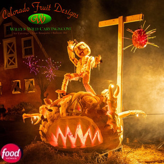 Outrageous Pumpkins on Food Network