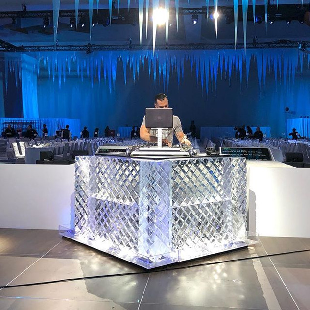 DJ Booth Ice at _gaylordrockies Event la
