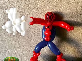 Mesa County Libraries Comic Con Balloon Superheroes