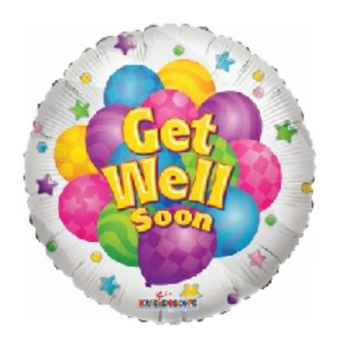 """Get Well Soon"" Balloon."