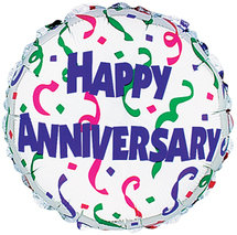 """Happy Anniversary"" Balloon"