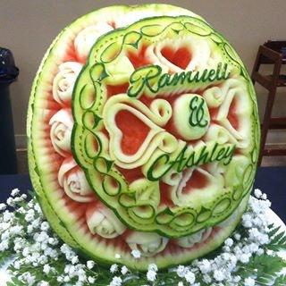 Dozen Roses Watermelon Design