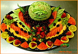 Fruit Tray Carving.