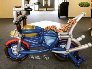 Motorcycle Balloon for Fairway independent mortgage in Grand Junction Colorado