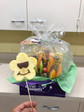 Delivering some sweet gifts and fruit bouquets to St Mary's Hospital