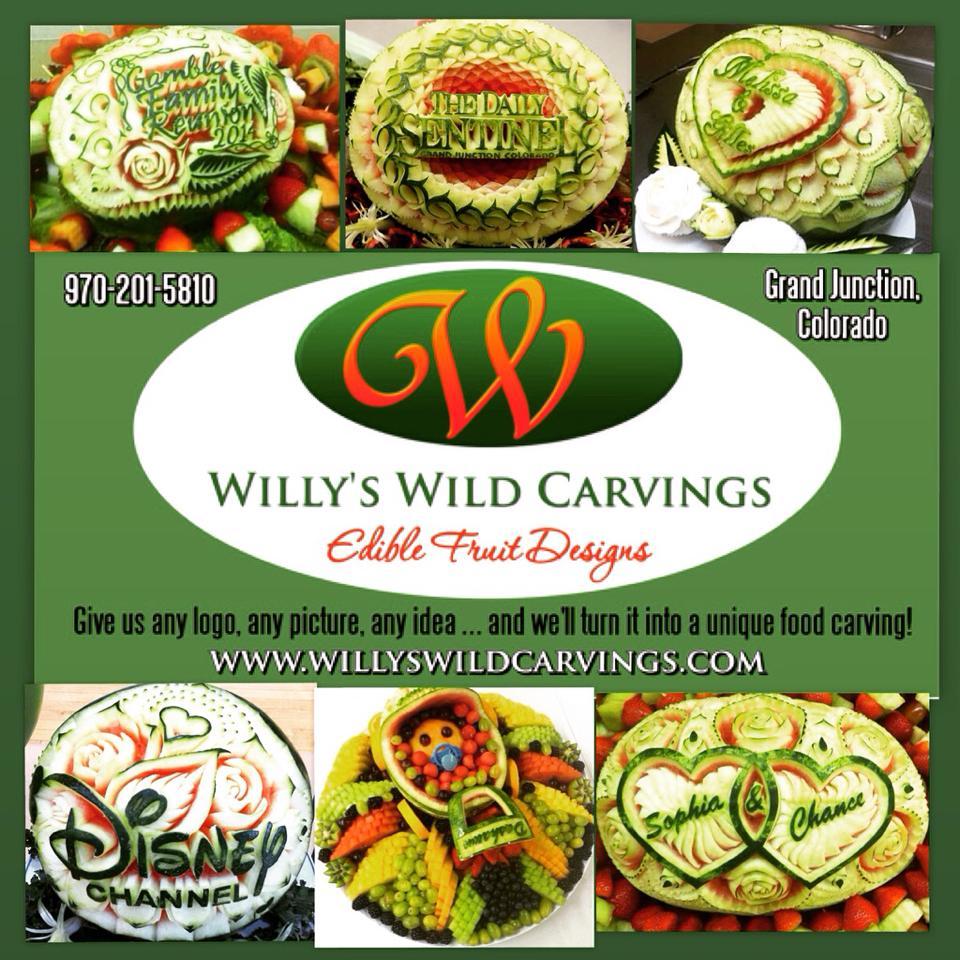Custom Carved Company Logos.