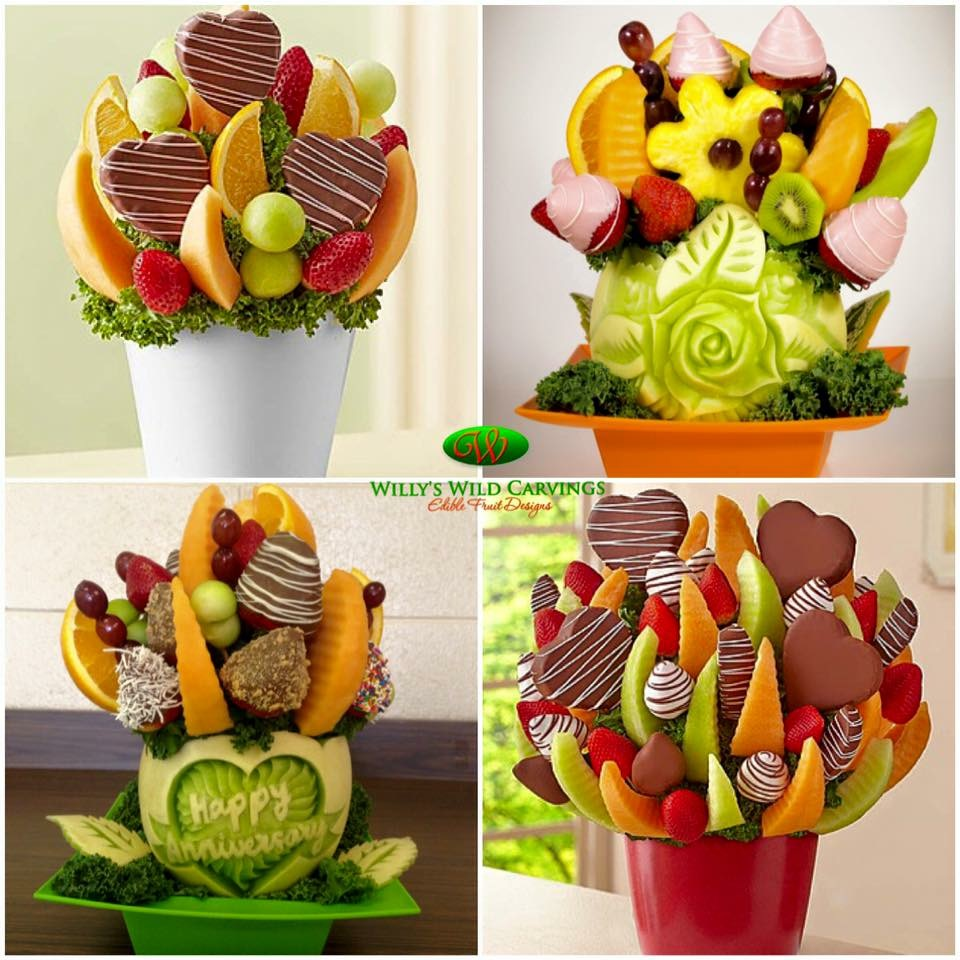 Custom Fresh Fruit Bouquets