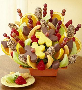 Abundant Fruit & Chocolate Tray.