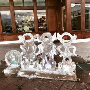 Elf Ice Carvings