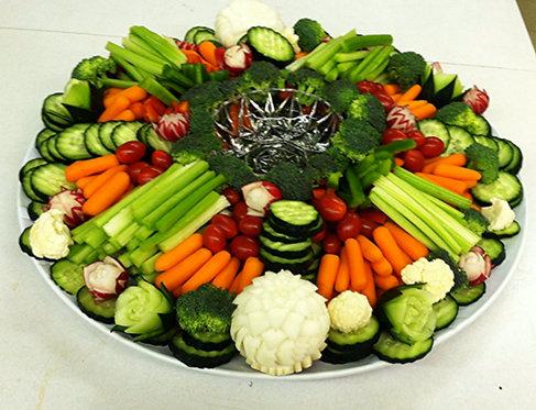 Artful Veggy Tray