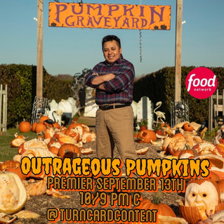 Outrageous Pumpkin carving competition on FoodNetwork