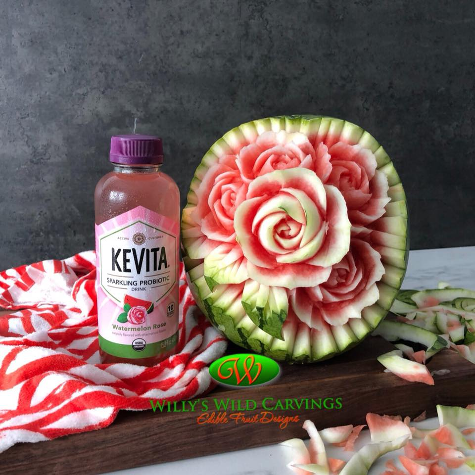 Watermelon Rose Kevita Drink