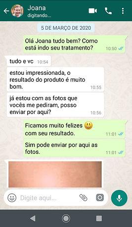 WhatsApp Joana - Clinic Cell