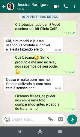 WhatsApp Jessica - Clinic Cell