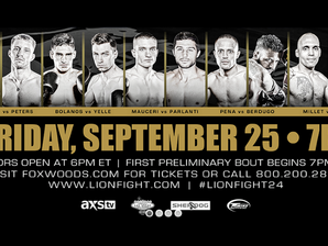 Coach Chris Mauceri at Lion Fight 24