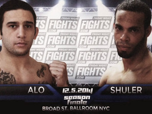 Alo -vs- Shuler this Friday in NYC