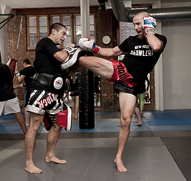 Stockade Muay Thai Sean Fagan Coach JJ