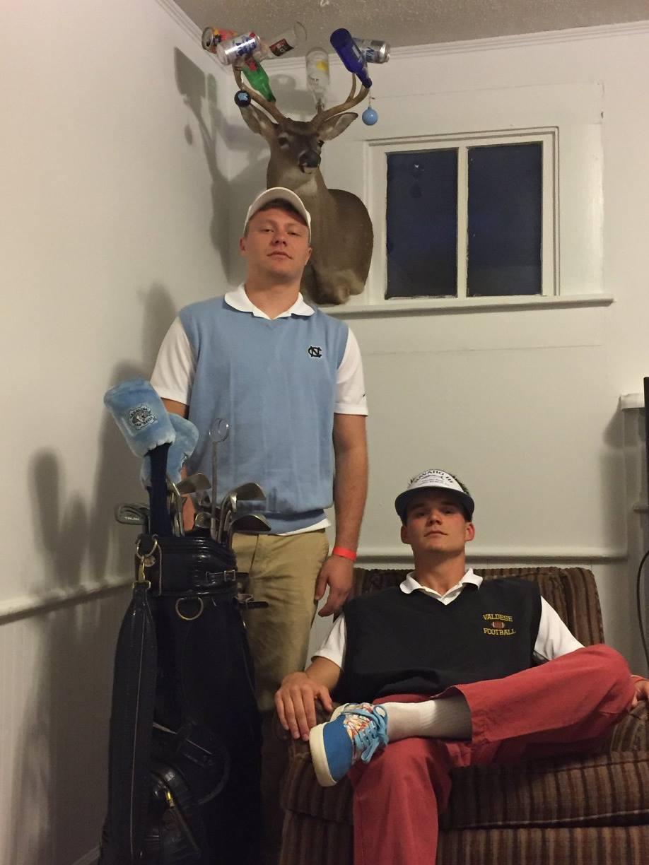 Senior Bar Golf. Eagles only.