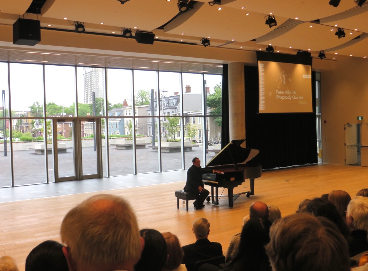 O'Regan Hall Piano Inaugeration