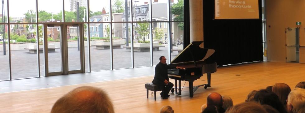 O'Regan Hall Piano Inaugeration