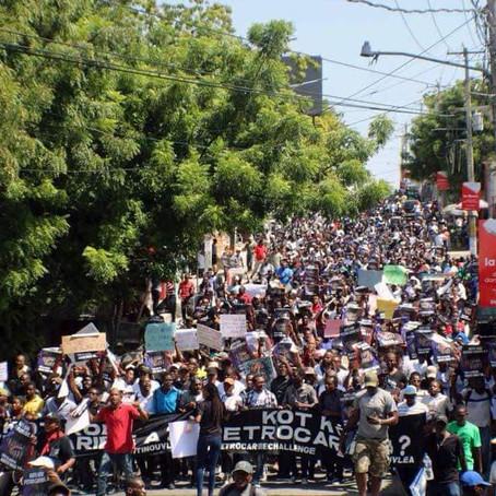 Haiti: Protests Turned Humanitarian Crisis