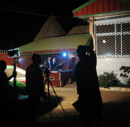 """Nigeria's Nollywood industry blurs the line between """"old"""" and """"new"""" technology"""