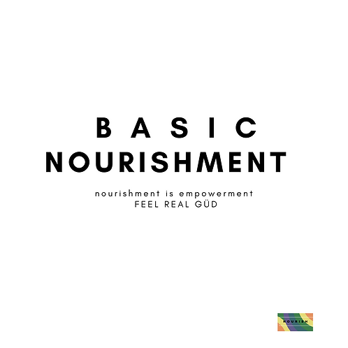 Foundations Basic Nourishment Package